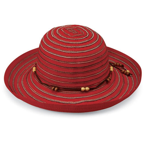 Wallaroo Breton UV Sun Hat Red