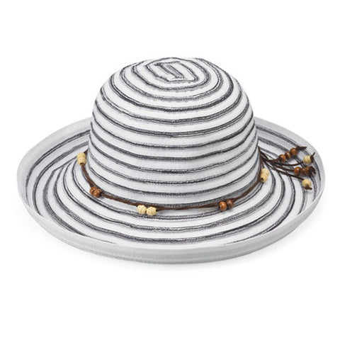 Wallaroo Breton UV Sun Hat White/Black