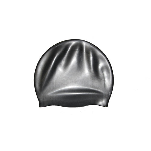 Bettertimes Silicone Swim Cap Black