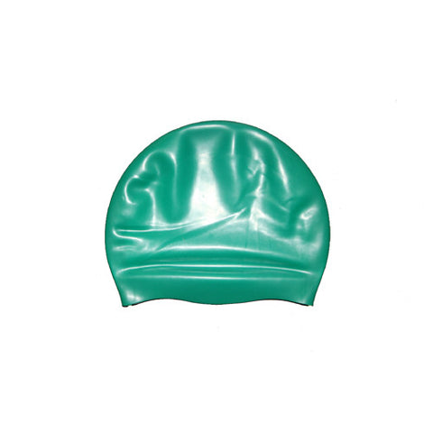 Bettertimes Silicone Swim Cap Dark Green