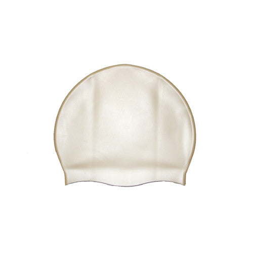 Bettertimes Silicone Swim Cap Gold
