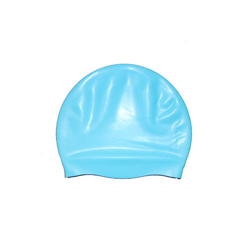 Bettertimes Silicone Swim Cap Light Blue