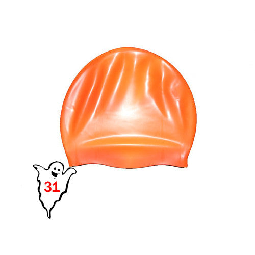 Bettertimes Silicone Swim Cap Orange