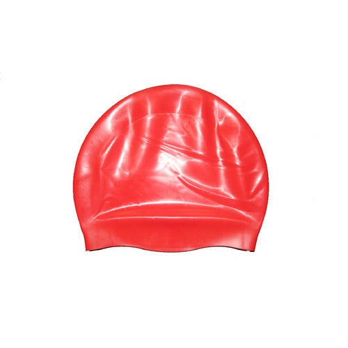 Bettertimes Silicone Swim Cap Red