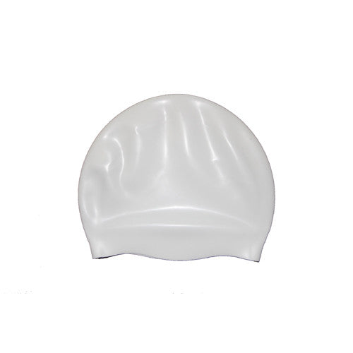 Bettertimes Silicone Swim Cap White