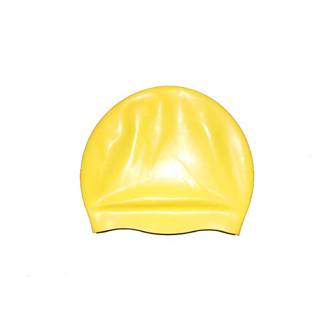 Bettertimes Silicone Swim Cap Yellow