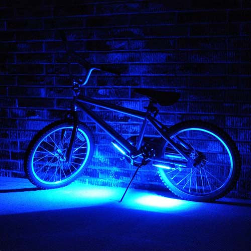 Bike Brightz Blue Wheel Brightz