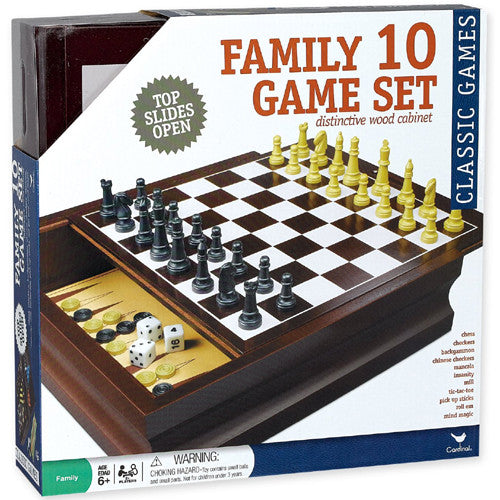 Marlon Family 10 Game Set