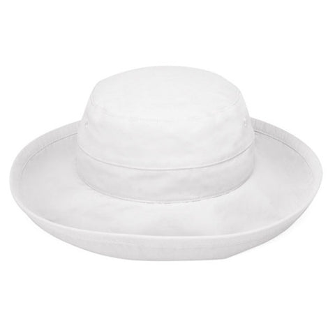Wallaroo Casual Traveler UV Sun Hat White