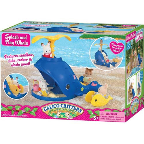 Calico Critters Splash and Play Whale