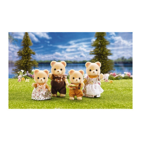 Calico Critters Cuddle Bear Family