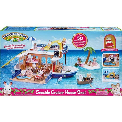 Calico Critters Seaside Cruiser Houseboa