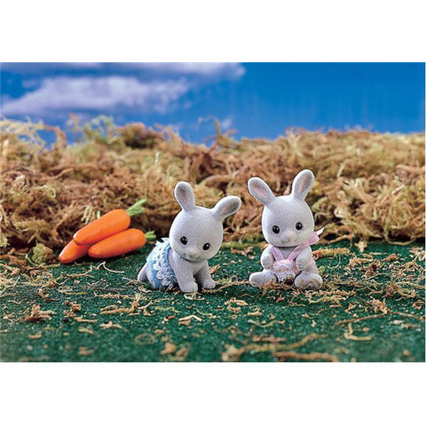 Calico Critters Cottontail Rabbit Twins