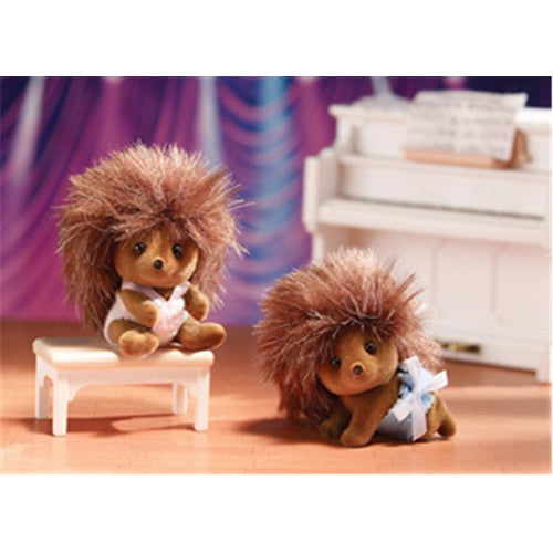 Calico Critters Pickleweed Hedgehog Twin