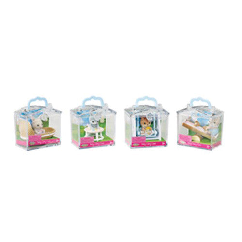 Calico Critters Critter Babies & Case