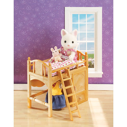 Calico Critters Sisters Loft Bed
