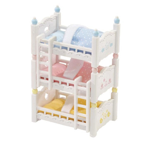 Calico Critter Triple Baby Bunk Beds