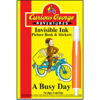 Lee Curious George Invisible Ink Book