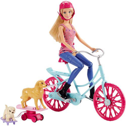 Barbie Spin & Ride Pups