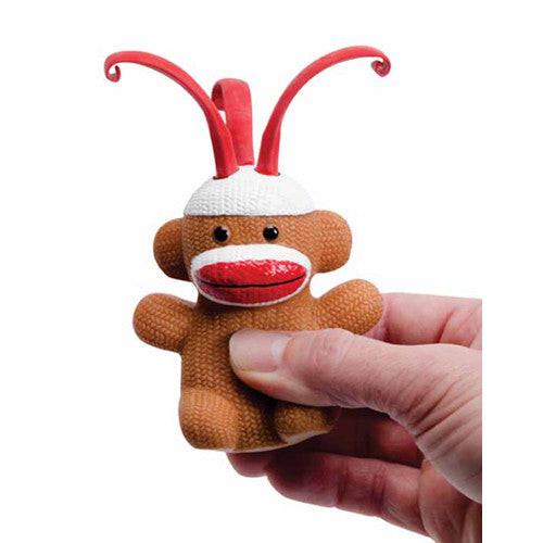 Schylling Curly Pops Sock Monkey