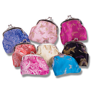 Schylling Silk Coin Purses