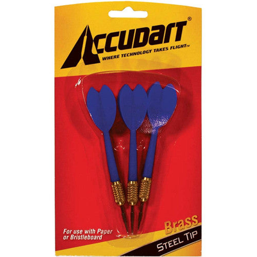 Accudart Darts Brass Steel 3PK