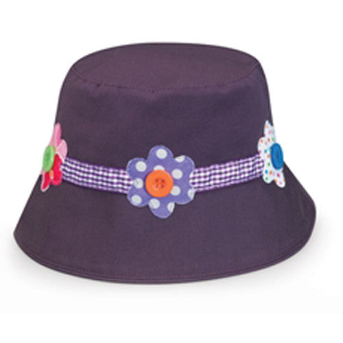 Wallaroo Daisy Hat Purple