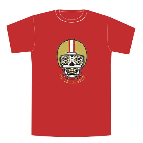 Dia de los 9ers Tee S/S Red Large