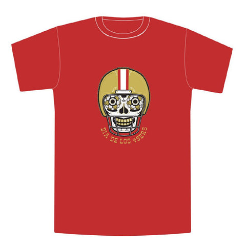 Dia de los 9ers Tee S/S Red Small