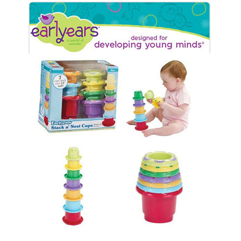 Earlyears Stack N Nest Cups
