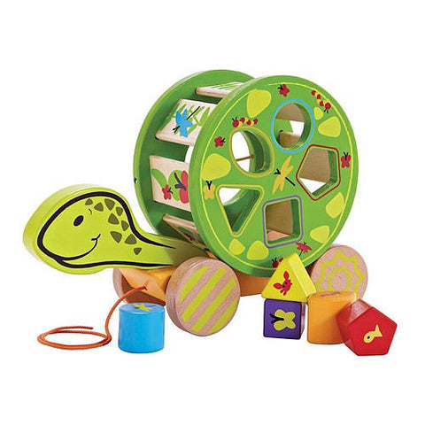 Hape Walk-a-Long Snail Shape Sorter