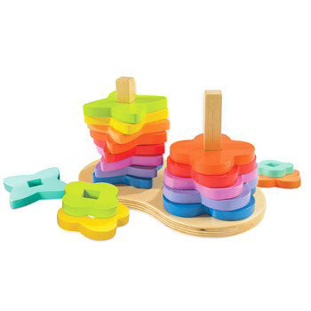 Hape Double Rainbow Stackers