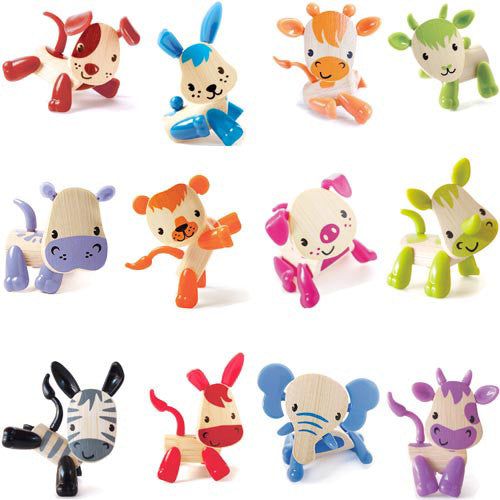 Hape Mini-Mals Assorted Animals