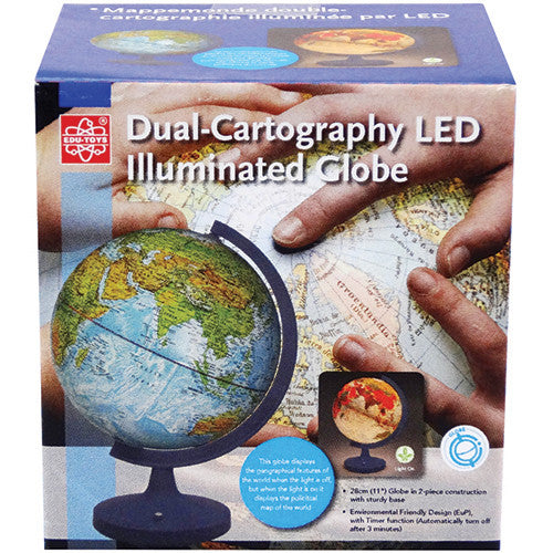 Elenco 11inch Dual Illuminated Globe