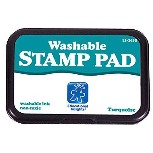 Educational Washable Stamp Pad Turquoise