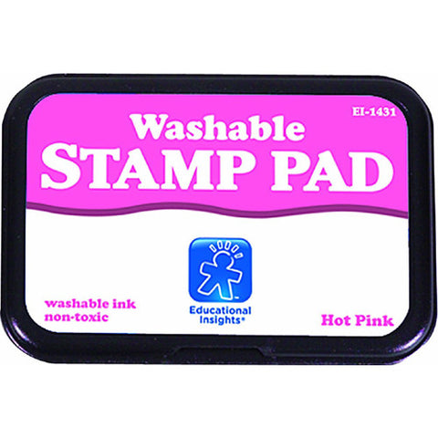 Educational Washable Stamp Pad Hot Pink