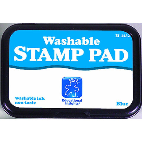 Educational Washable Stamp Pad Blue