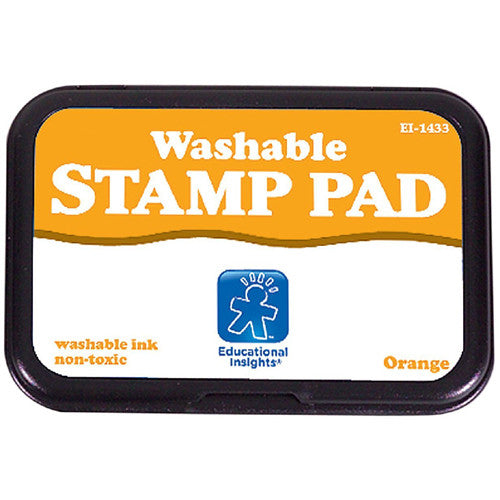 Educational Washable Stamp Pad Orange