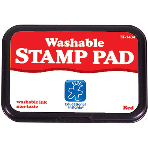 Educational Washable Stamp Pad Red