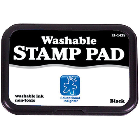Educational Washable Stamp Pad Black