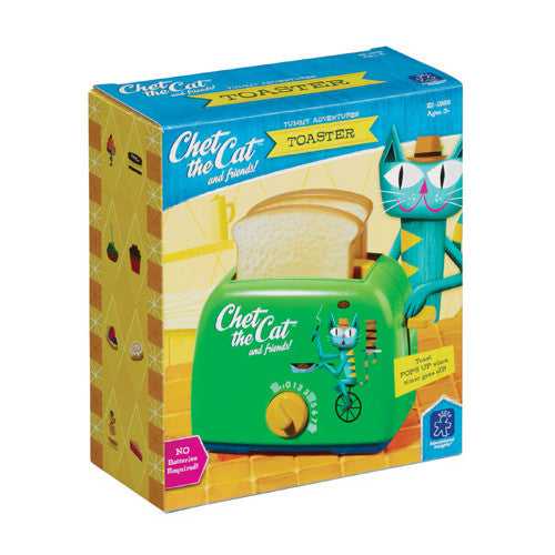 Educational Chet the Cat Toaster