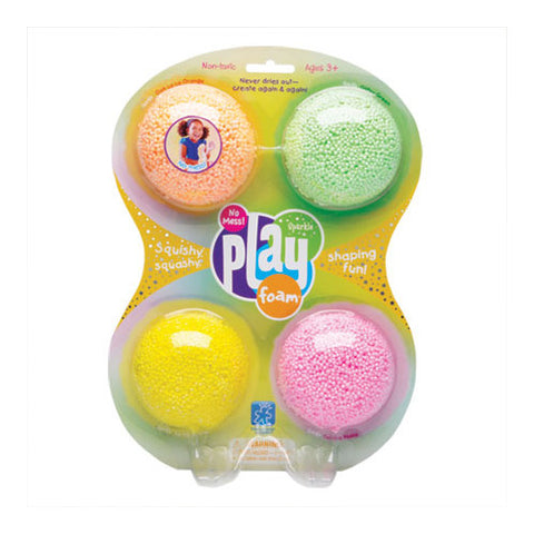 Educational Playfoam Sparkle 4pk