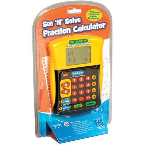Educational See N Solve Fraction Calcula