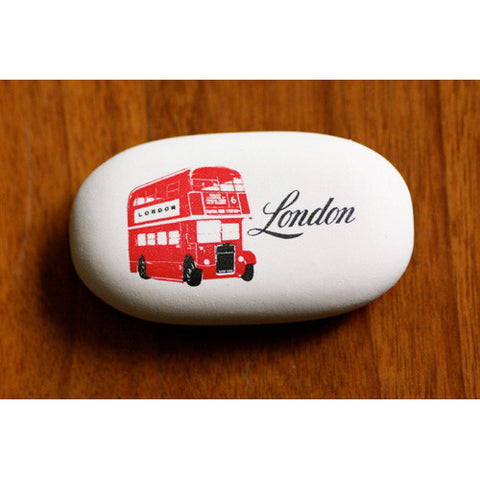 Cavallini Eraser London DD Bus