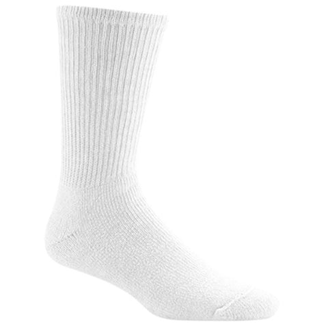Wigwam Socks King Cotton Crew White MD (Men 5-9.5)(Wos 6-10)