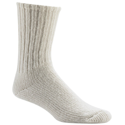 Wigwam Socks Husky Crew White MD (Men 5-9.5)(Wos 6-10)