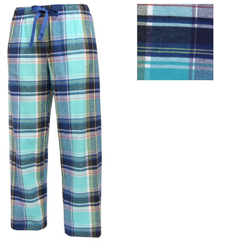 Boxercraft Plaid Flannel Pants Marina Adult Large