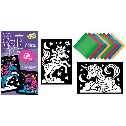 Peaceable Foil Art Unicorns