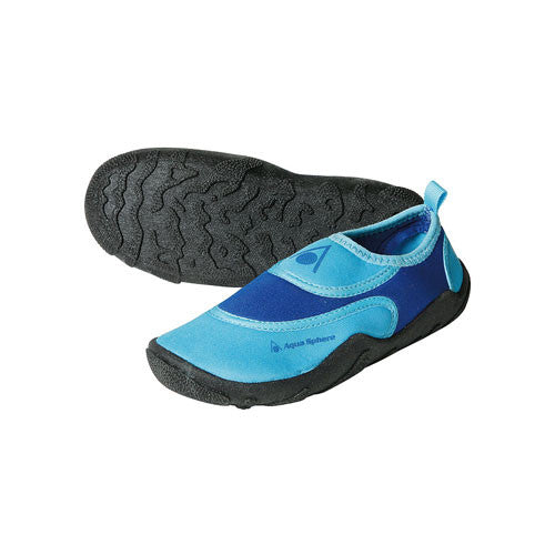 AquaSphere Cancun Jr Beach Shoe Royal/Lt Green 11