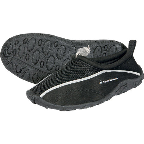 AquaSphere Lisbona Beach Shoe Black 6